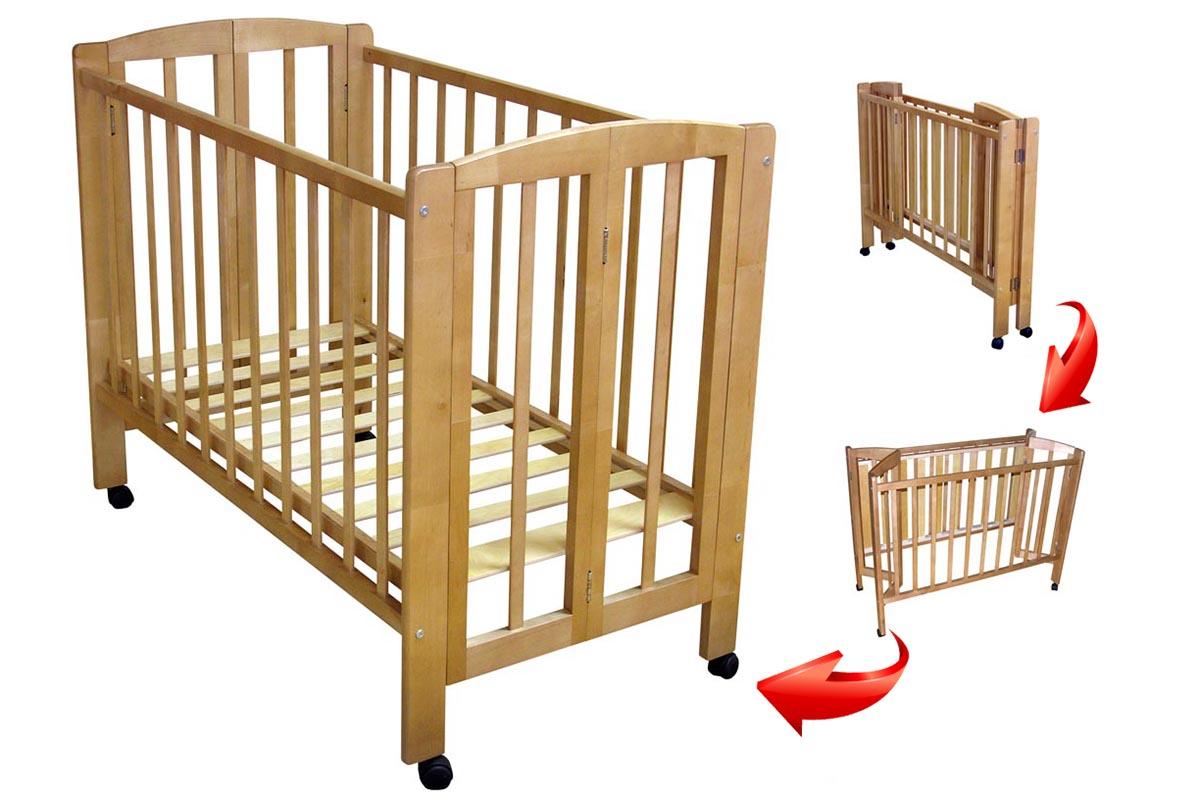Детская складная кроватка для отелей